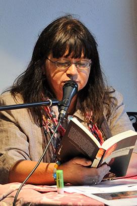 Die Autorin liest spannende Kapitel